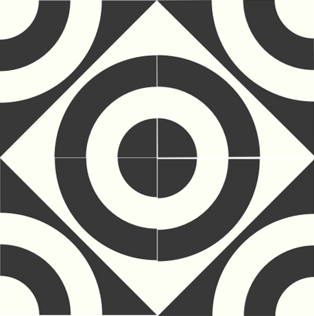 Concentric Algiers Cement Tile